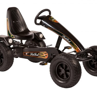 Dino Go Kart Hot Rod ZF in Black