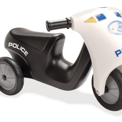 Dantoy 3333 Police Scooter with rubber wheels